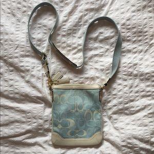 COACH Crossbody Bag Babyblue